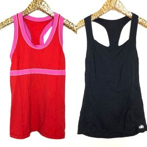 ALO Yoga Bundle of 2 tank tops